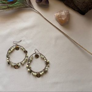3 FOR $12 EARRINGS!! Express beaded hoops
